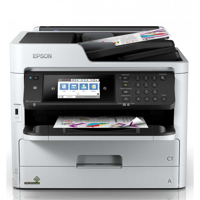 Epson WorkForce Pro WF-C5790DWF Színes Mfp