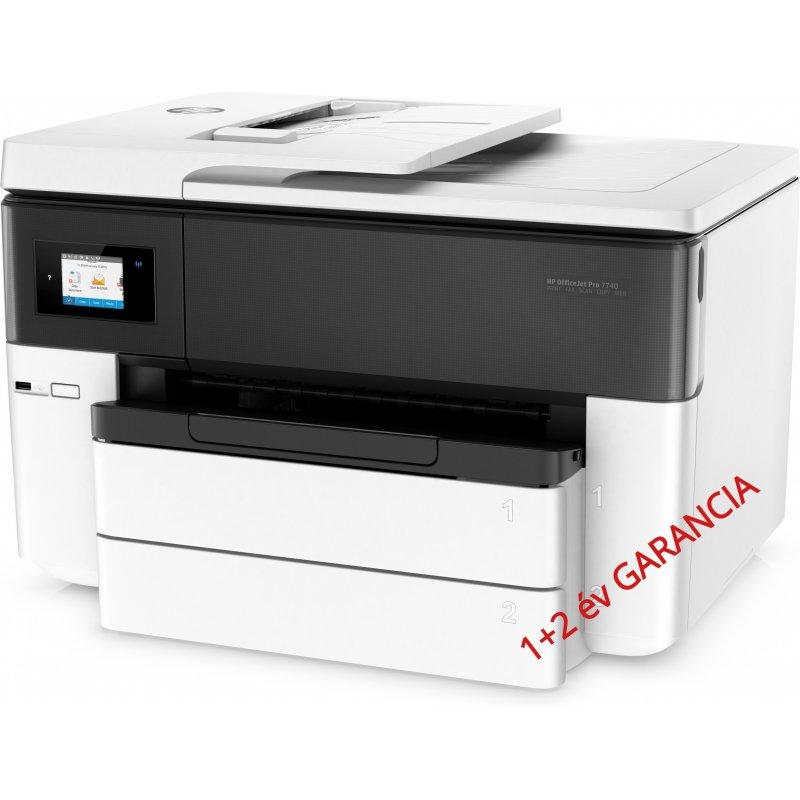 HP Officejet 7740 dwf MFP DSDF A3+ nyomtató