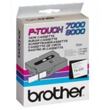 Brother TX251szalag (Eredeti)